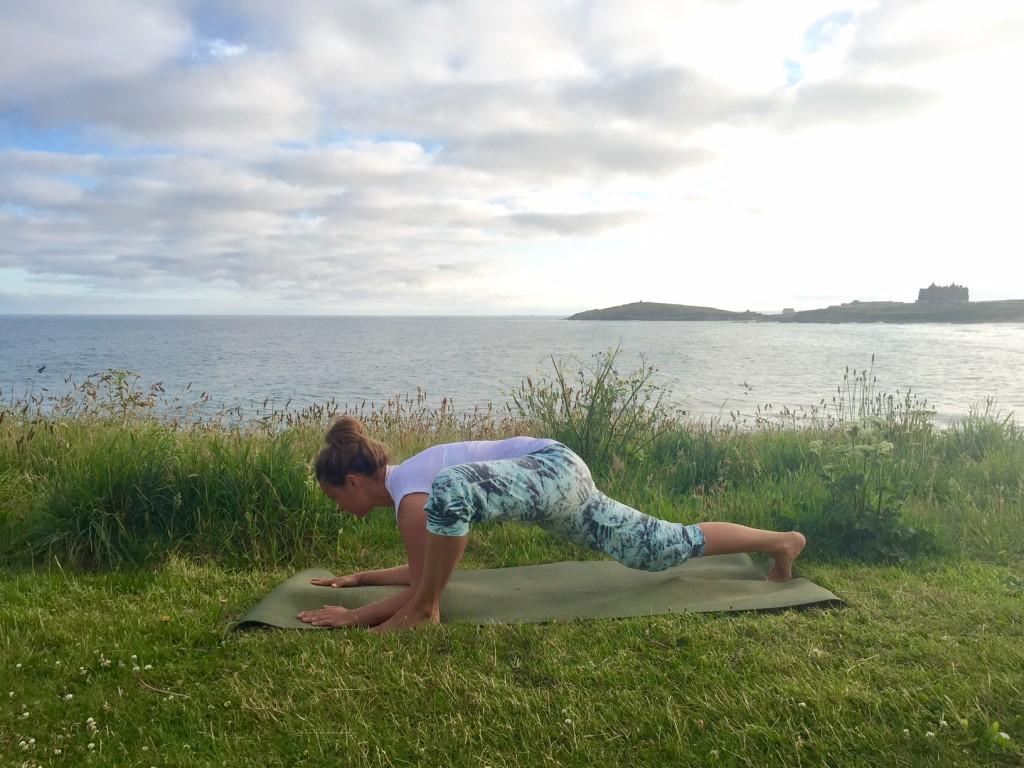 Yin Yoga Hip Opening Dragon Pose