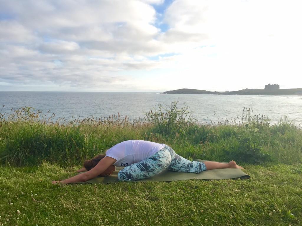 Yin Yoga Hip Opening Sleeping Swan