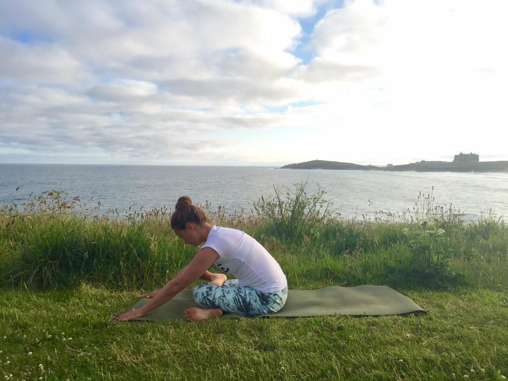 Yin Yoga Hip Opening Square Pose